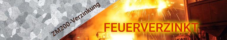 ZM200 Feuerverzinkt Laufschiene